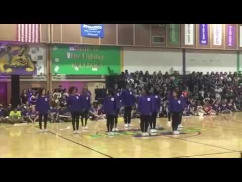 Waukegan High School Dance Team - Homecoming Pep Rally