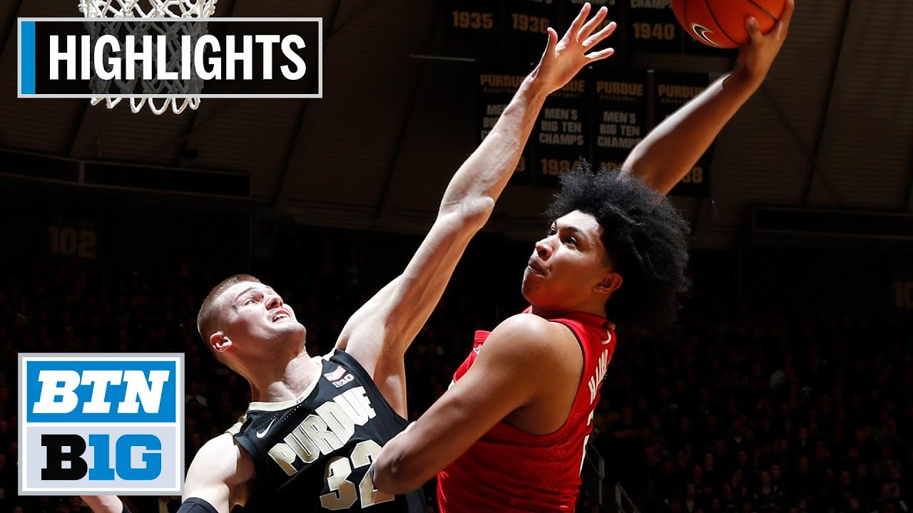 Purdue vs. Rutgers: See video highlights from the basketball game