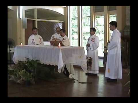 Aklan Bishop celebrates Eucharistic Mass