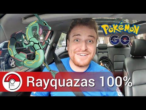 Três Rayquazas 100% no mesmo carro - Pokémon GO thumbnail