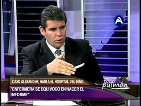 CASO ALEXANDER, HABLA EL HOSPITAL DEL NIÑO