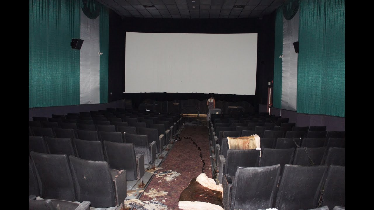 movie theater abandoned seats and projectors remain youtube. Black Bedroom Furniture Sets. Home Design Ideas