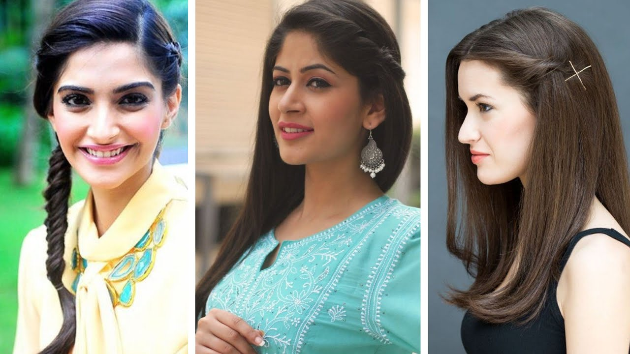 Top 4 kurti hairstyle ideas  Simple and new hairstyles to try with  kurtis and salwar suits