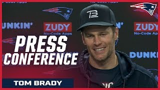 """Tom Brady: we're going to """"try and go out and play our best game of the year"""""""