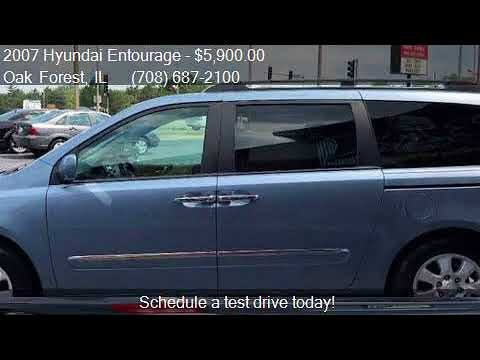 2007 Hyundai Entourage Limited 4dr Mini Van for sale in Oak