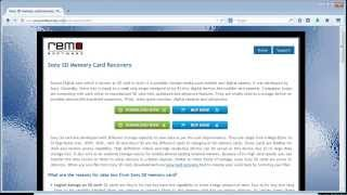 SDHC Memory Card Recovery Tool to Restore Lost Data