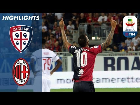 Cagliari 1-1 Milan | Higuaín OpensMilan Account With Equaliser | Serie A