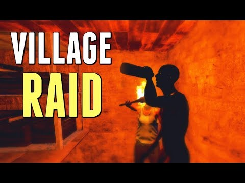 Rust |  RAIDING A 25 MAN VILLAGE (UNEDITED) thumbnail