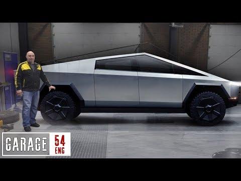Transforming An UAZ Into A Tesla Cybertruck