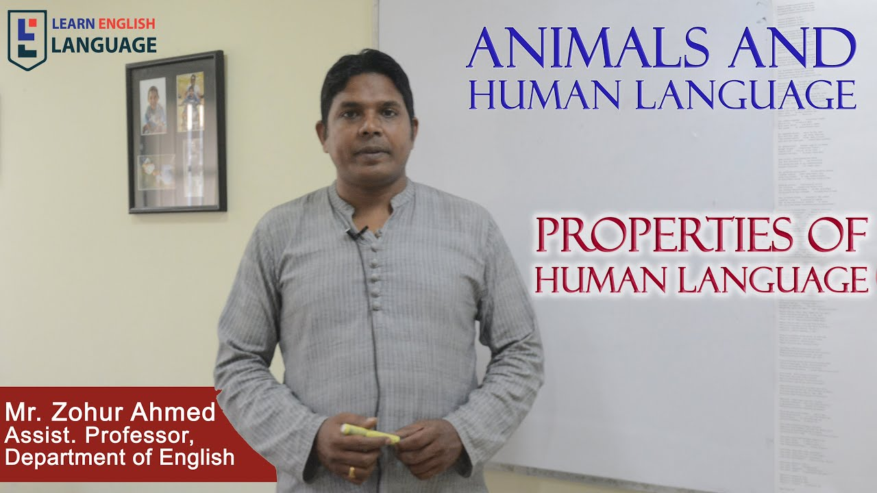 animala and human language Is there something distinctive about humanity that justifies the idea that humans have moral status while non-humans do not providing an answer to this question has become increasingly important among philosophers as well as those outside of philosophy who are interested in our treatment of non-human animals.
