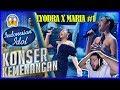 LYODRA X MARIA - NEVER ENOUGH - Loren Allred- KONSER KEMENANGAN - Indonesian Idol 2020 Reaction!