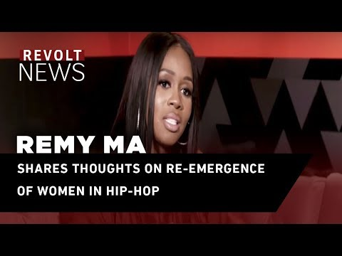 Remy Ma shares thoughts on re-emergence of women in hip-hop