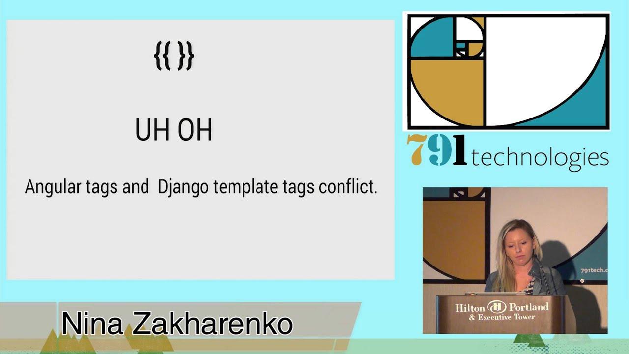Image from AngularJS + Django = A Perfect Match