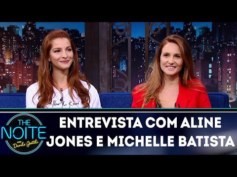 Entrevista com Aline Jones e Michelle Batista | The Noite (09/04/18)