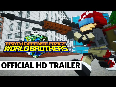 Earth Defense Force: World Brothers - Exclusive Western Release Trailer