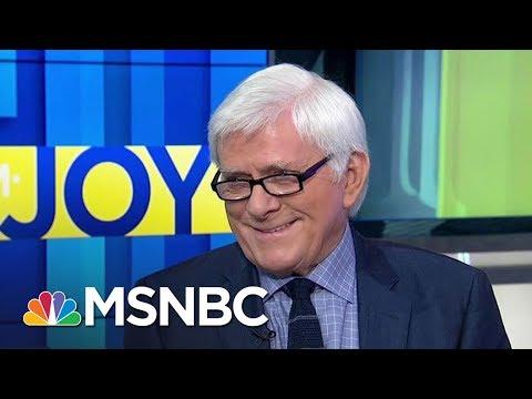 Phil Donahue Calls Donald Trump Era 'Darkest Political Moment'   AM Joy   MSNBC