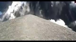 Anak Krakatau Volcano Erupts with Large Plume In Indonesia