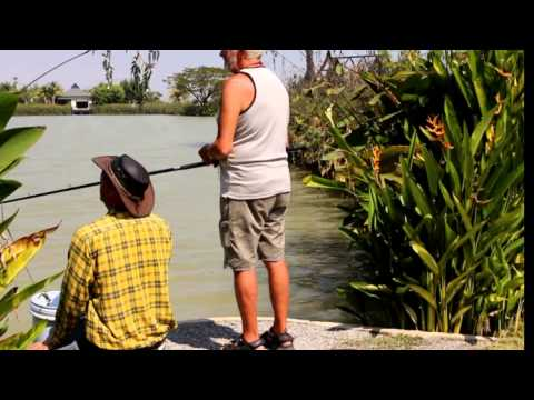 Fishing in Thailand at Jurassic Mountain Resort & Fishing Park
