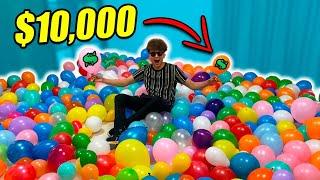 ESCONDO $10,000 EN GLOBOS Y EL QUE LOS ENCUENTRE SE LOS GANA!