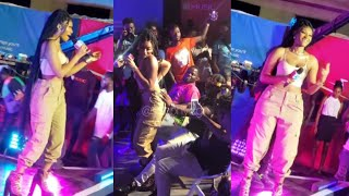 Wendy Shay Performs & Twerk On A Fan At 4Syte TV G-Power 100