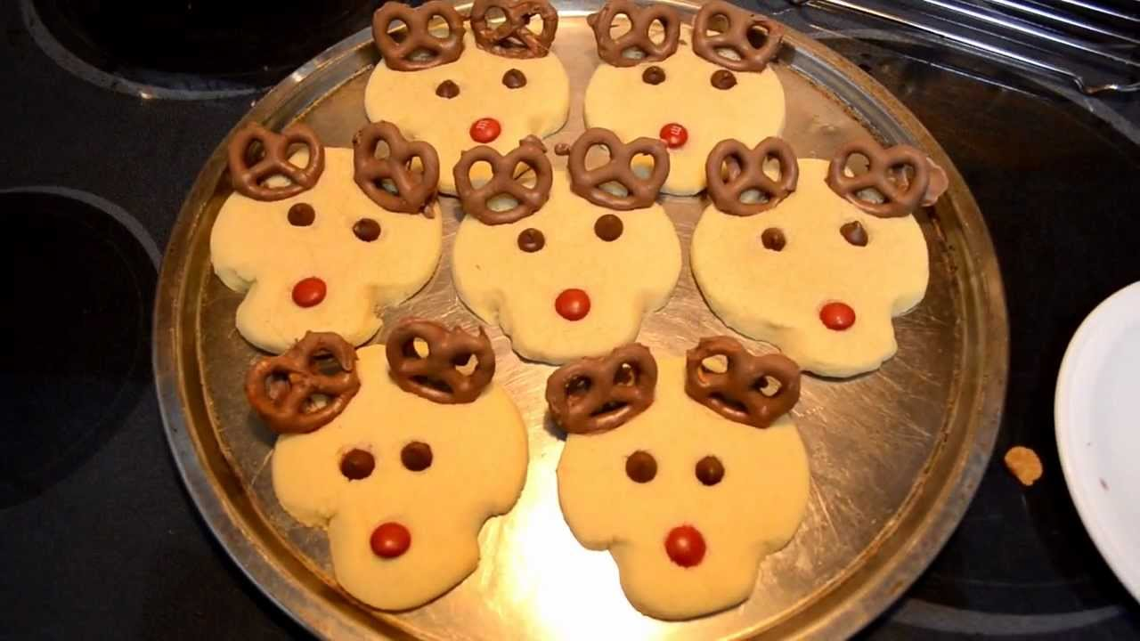 Rudolph The Red Nosed Reindeer Christmas Cookies Cooking With Agent96 E 33