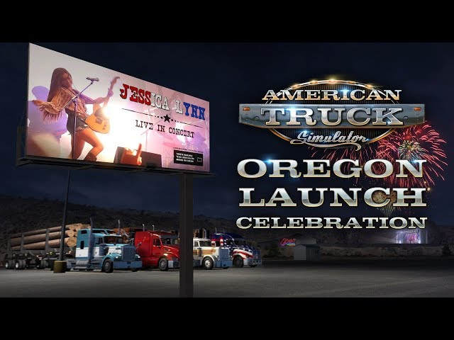American Truck Simulator Oregon Release Celebration featuring Jessica Lynn