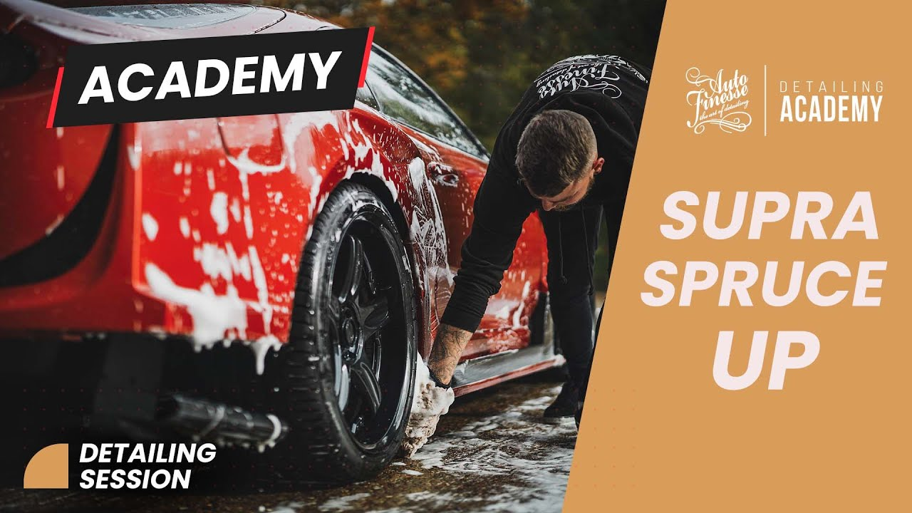 Auto Finesse Detailing Academy - Supra spruce up
