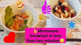 Microwave Mug Breakfasts for Weight Loss.Quick and Easy