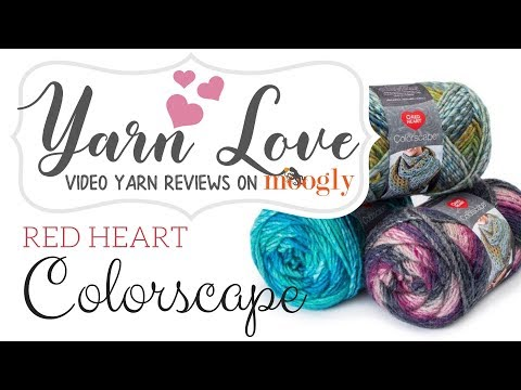 How to Crochet: Red Heart Colorscape