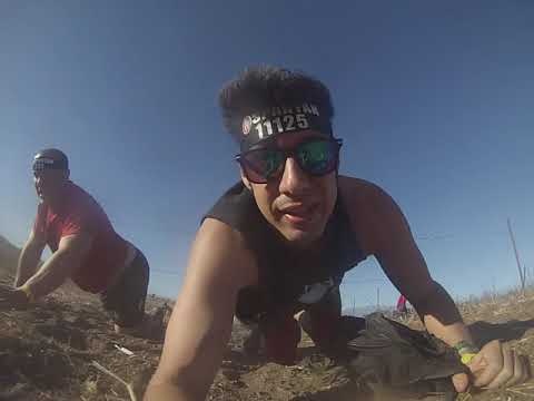 Spartan Race: Obstacle Course #7: Barb Wire Crawl