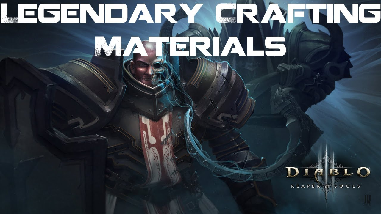 Diablo  Reaper Of Souls Crafting Materials