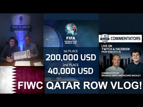 Casting @ FIFA Interactive World Cup ROW (Qatar) Vlog