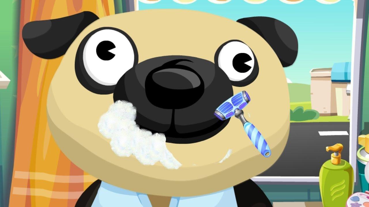 Dr. Panda's Beauty Salon - Game App for Kids - YouTube