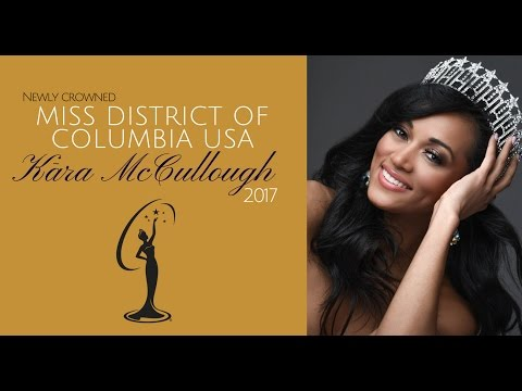 Miss District Of Columbia Says Health Care Is A Privilege - Miss USA 2017