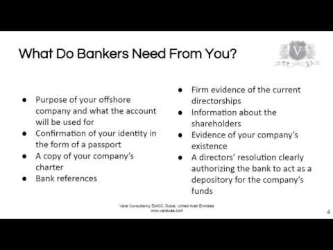 Offshore Banking Accounts | Use It To Safeguard Your Funds
