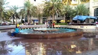 Dubai -  Shopping Mall, Marina Walk,  Madinat Jumeirah,  Miracle Garden,  Atlantis The Palm