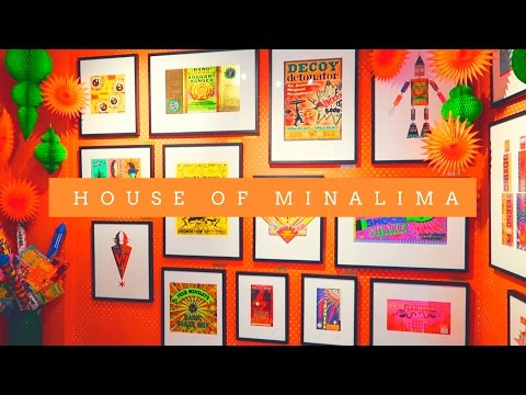 Visiting the House of MinaLima (Graphic Design & Illustration Museum)