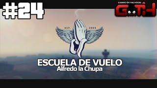 LA ESCUELITA DE VUELO - GTA V #24 en Español - GOTH