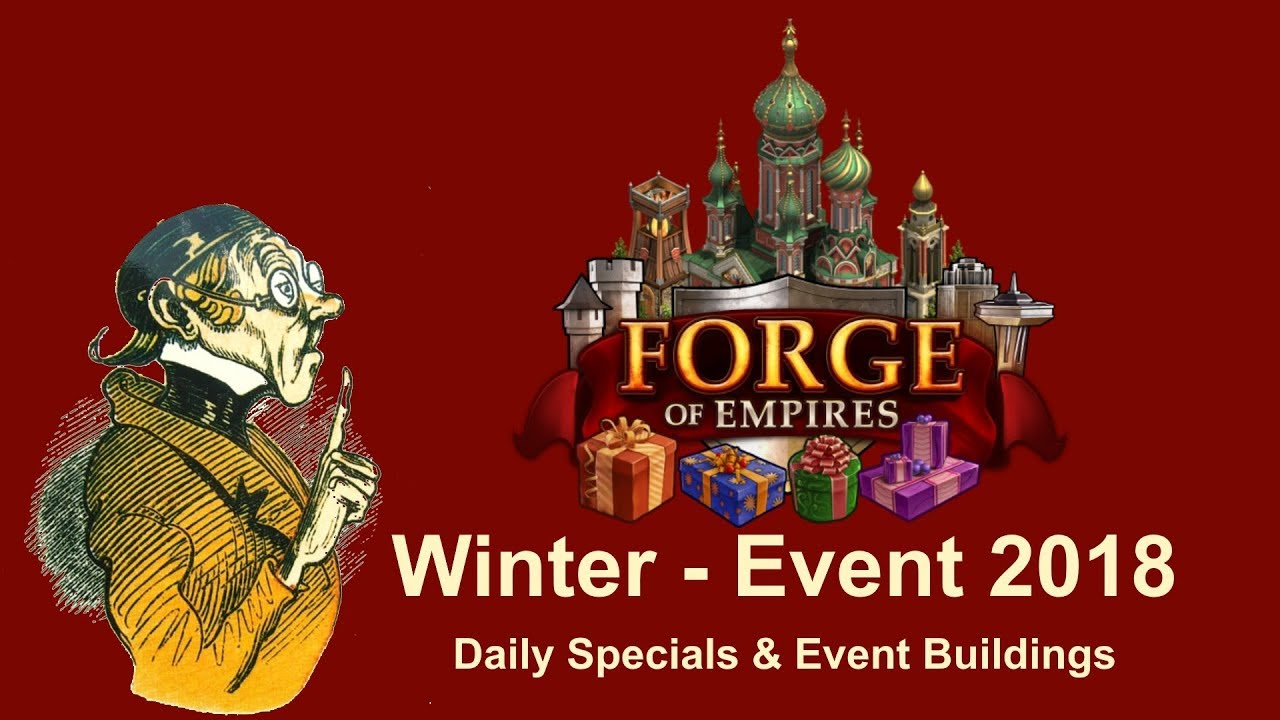 Forge Of Empires Summer Event 2020.Foehints Winter Event 2018 Daily Specials And Event Buildings In Forge Of Empires