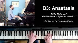 B:3 Anastasia (ABRSM Grade 3 piano, 2021-2022 syllabus)