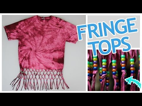 5 Ways To Make A Fringe Top - Do It, Gurl