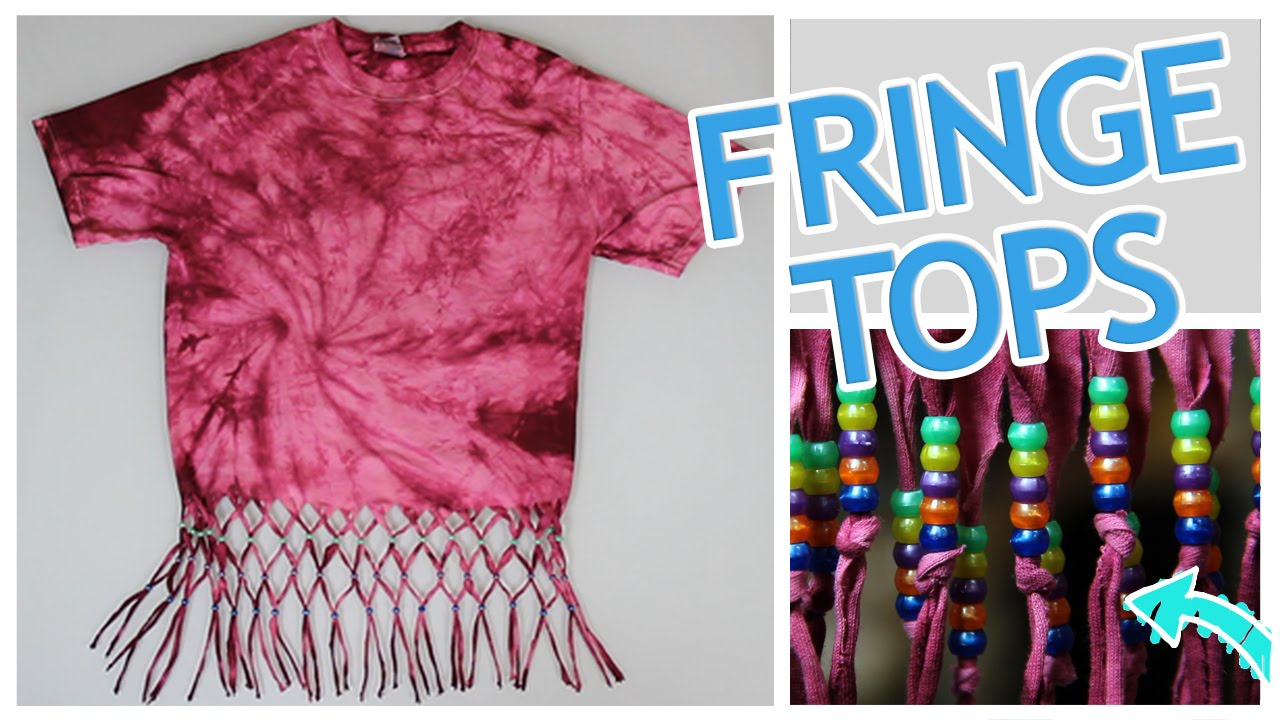 5 Ways To Make A Fringe Top Do It Gurl YouTube