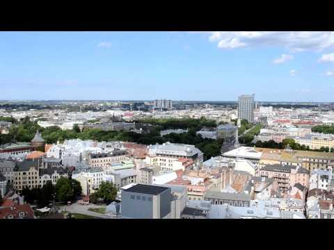 アキーラさん堪能!ラトヴィア・リガの絶景6,The city view of Riga,Latvia