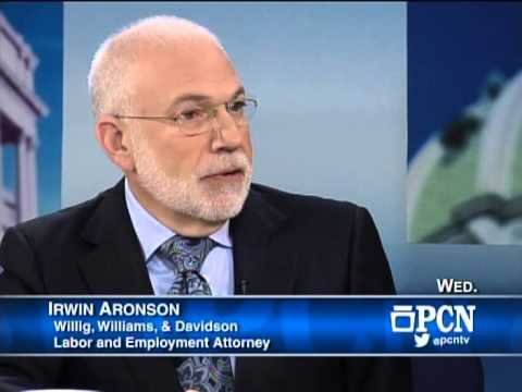 PCN TV Interviews Attorney Irwin W. Aronson on Federally Protected Labor Disputes