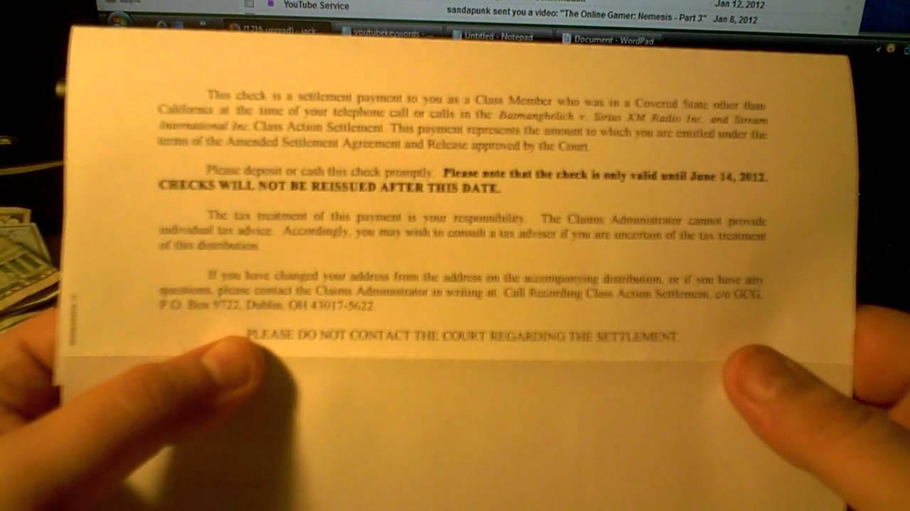 class action lawsuit payouts