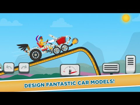 Car Builder And Racing Game For Kids Android Gameplay