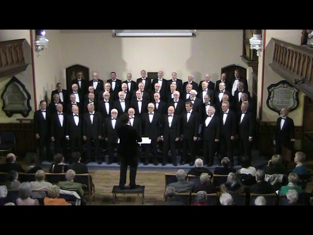 Macclesfield Male Voice Choir: AGC 2018 This is the moment