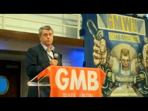GMB Campaigns for Justice Conference 2016 opened by Regional Secretary Paul McCarthy