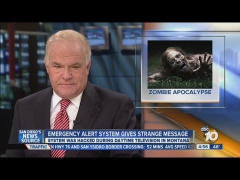 Nebraska TV station issues zombie apocalypse warning after hacker broke into emergency alert system