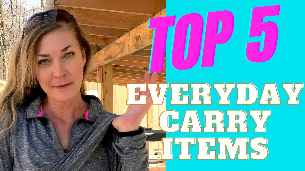 Top 5 Items that you should carry daily.